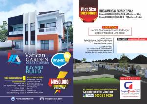 Residential Land Land for sale Behind Asaba Airport, and 2nd Niger bridge proposed link road Asaba Delta