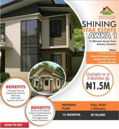 Serviced Residential Land Land for sale Shining Star Estate Awka North Anambra