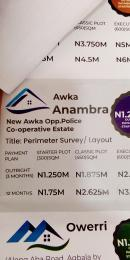 Residential Land Land for sale New Awka, Opposite Police Co-operative Estate  Awka South Anambra