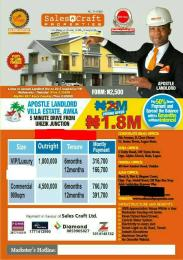 Mixed   Use Land Land for sale 5 minutes from UNIZIk Junction  Awka North Anambra