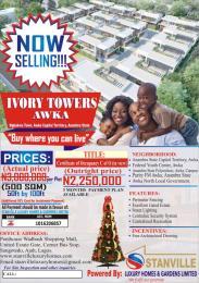 Mixed   Use Land Land for sale Ivory Towers, Mgbakwu Town, Awka, Anambra State Awka North Anambra