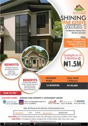 Serviced Residential Land Land for sale Shinning  Star Estate 13mins Drive  from Aroma Junction  Junction   Awka North Anambra