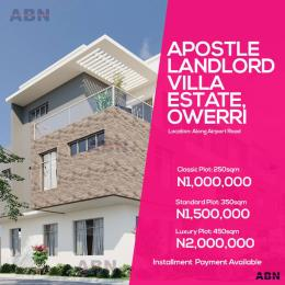 Land for sale Unizik junction Awka North Anambra