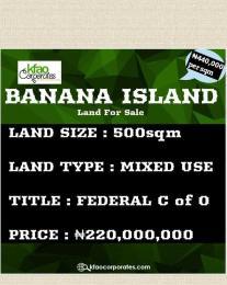 Mixed   Use Land Land for sale Banana Island Ikoyi Lagos