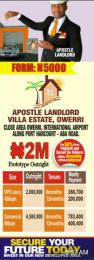 Residential Land Land for sale Along air port road Owerri Imo