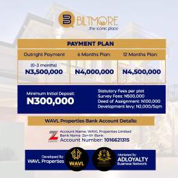 Residential Land Land for sale New Lekki international airport Ibeju-Lekki Lagos