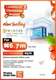 Mixed   Use Land Land for sale Sharing bonderies with fara park estate and novare mall Bogije Sangotedo Lagos