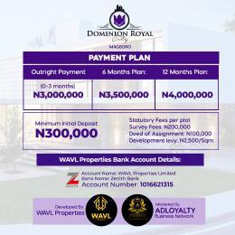Residential Land Land for sale Magboro Obafemi Owode Ogun