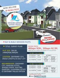 Serviced Residential Land Land for sale Sentenary Town  Nsukka Enugu