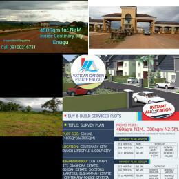 Residential Land Land for sale Inside Centinary City,  Enugu State Enugu Enugu