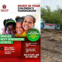 Residential Land Land for sale Epe Lagos
