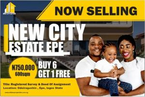 Serviced Residential Land Land for rent Odoiragushin Epe Epe Road Epe Lagos