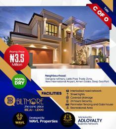 Residential Land Land for sale Ibeju Lekki  Ibeju-Lekki Lagos