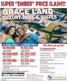 Serviced Residential Land Land for sale Okun Ise LaCampaigne Tropicana Ibeju-Lekki Lagos