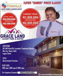 Mixed   Use Land Land for sale Okun Ise LaCampaigne Tropicana Ibeju-Lekki Lagos
