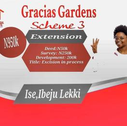 Serviced Residential Land Land for sale Ise, Ibeju-Lekki Ibeju-Lekki Lagos