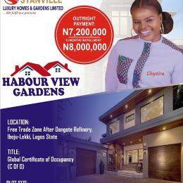 Serviced Residential Land Land for rent Free trade zone, after Dangote Refinery. Ibeju-Lekki Lagos