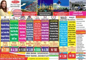 Residential Land Land for sale Land for sale in Ibeju Lekki  (Majo Sunshine) Orimedu Ibeju-Lekki Lagos