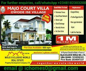 Residential Land Land for sale Along Dangote Refinery Road Ikegun Ibeju-Lekki Lagos