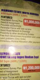Serviced Residential Land Land for sale Imota Ikorodu  Abule Egba Lagos