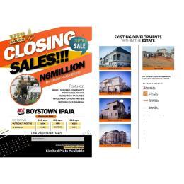 Residential Land Land for sale Inside BoysTown Ipaja Legos Boys Town Ipaja Lagos