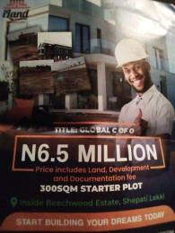 Serviced Residential Land Land for sale Inside Beachwood Estate, Shepati, Lekki Lagos  LBS Ibeju-Lekki Lagos