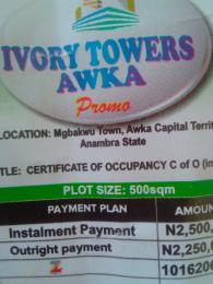 Mixed   Use Land Land for sale Ogbaku town Waka capital territory Awka South Anambra