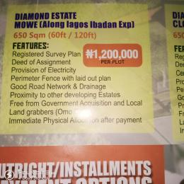 Mixed   Use Land Land for sale Mowe Along Lagos Ibadan Expressway  Sagamu Sagamu Ogun
