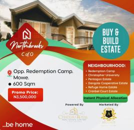 Mixed   Use Land Land for sale Opposite Redemption camp's  Mowe Obafemi Owode Ogun
