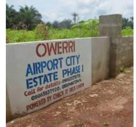 Serviced Residential Land Land for sale Along Owerri Airport Road Ngor Okpala Owerri Imo State Owerri Imo