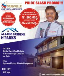 Residential Land Land for sale Ogbaku village off Onitsha Owerri road Owerri Imo