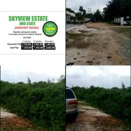 Residential Land Land for sale Airport Road,  beside Westpoint Estate Owerri Imo