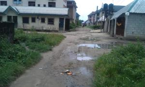 Residential Land Land for sale alond the east west road off choba uniort  East West Road Port Harcourt Rivers