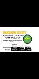Residential Land Land for sale Agwawiri Omagwa, Near Port Harcourt International Airport  Port-harcourt/Aba Expressway Port Harcourt Rivers