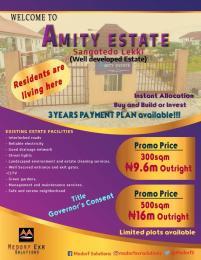 Residential Land Land for sale Amity Estate is located at Sangotedo, Lekki  Lekki Lagos