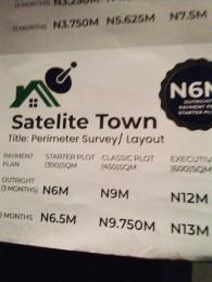 Commercial Land Land for sale Very Close To Alakija Town, Satellite Town Lagos  Satellite Town Amuwo Odofin Lagos