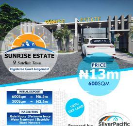 Land for sale Sunrise Estate Satellite Town Amuwo Odofin Lagos