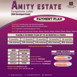 Mixed   Use Land Land for sale 3 minutes drive from Ajah shoprite Sangotedo Ajah Lagos