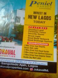 Mixed   Use Land Land for sale 2 minutes drive from Royal garden beside sky Mart lekki Sangotedo Ajah Lagos