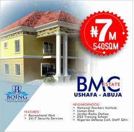 Serviced Residential Land Land for sale Ushafa Abuja neighborhood national teachers institute Garki 1 Abuja