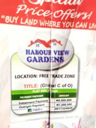 Serviced Residential Land Land for sale Free Trade Zone Free Trade Zone Ibeju-Lekki Lagos