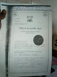Land for sale Ipakodo Ebute Ikorodu Lagos
