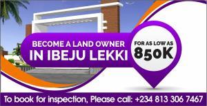 Mixed   Use Land Land for sale La'campangne Tropicana  Ikegun Ibeju-Lekki Lagos