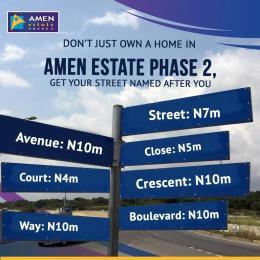 Land for sale Ibeju lekki Ajah Lagos