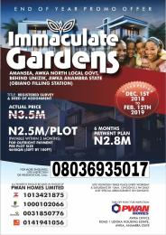 Residential Land Land for sale Amanse Awka, behind UNIZIK Awka North Anambra
