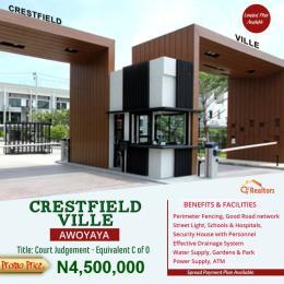 Residential Land Land for sale A few leagues from Lekki Epe Expressway  Awoyaya Ajah Lagos