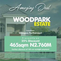 Land for sale portharcourt Port Harcourt Rivers