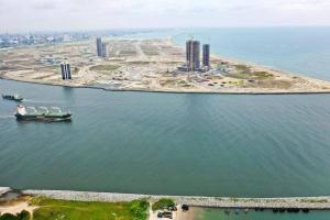 Land for sale Avenues 1,2,3 & Ocean Front, Eko Atlantic Victoria Island Lagos