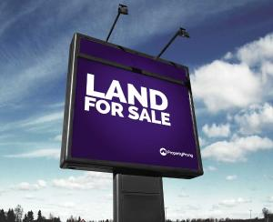 Land for sale Okiki street Grandmates bus stop, Behind fidelity bank Ago palace Okota Lagos