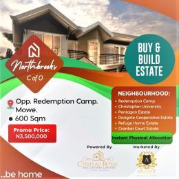 Residential Land Land for sale Opposite the RCCG Redemption Camp, Mowe. Mowe Obafemi Owode Ogun